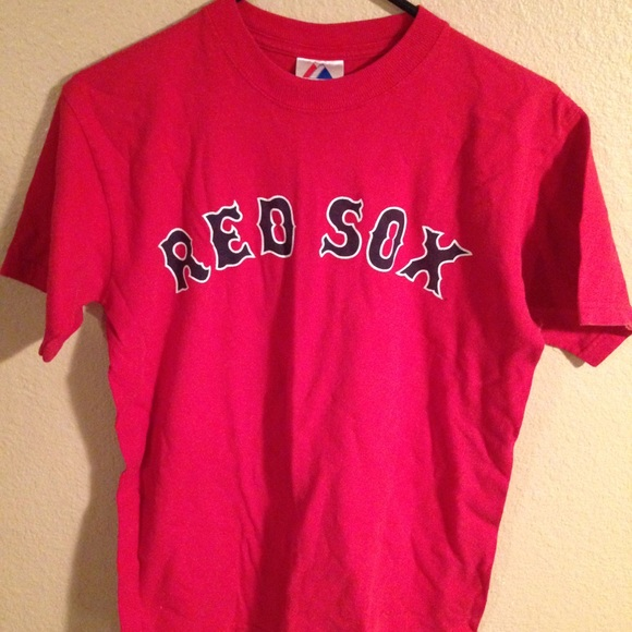 competitive price 612da 313de Boston Red Sox Youth Boys Large Red Jersey Shirt